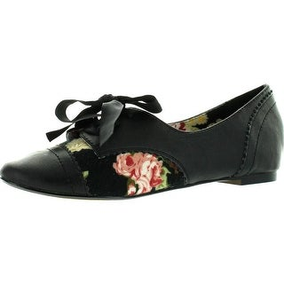 Restricted Womens Lucille Oxford Flats Shoes