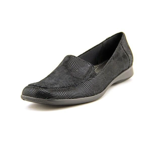 Trotters Jenn Apron Toe Leather Loafer