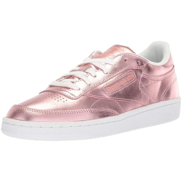 3a7d09d912f Shop Reebok Women s Club C 85 S Shine Sneaker - 6 - Free Shipping ...