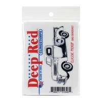 Deep Red Stamps Classic Pickup Truck Rubber Cling Stamp - 3.1 x 1.25