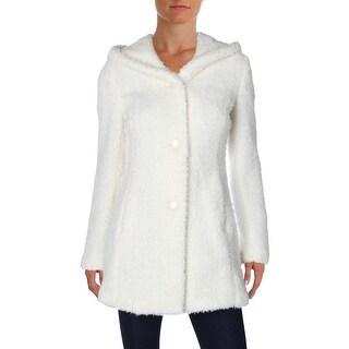Jessica Simpson Womens Jacket Plush Hooded