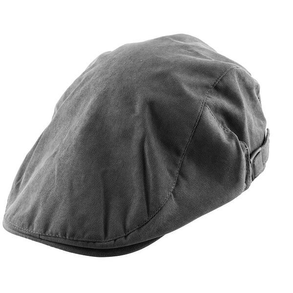 68c90ace4f603 Men Women Newsboy Ivy Cap Sun Protection Driving Casual Flat Beret Hat Gray