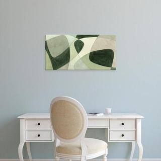 Easy Art Prints Renée W. Stramel's 'Verdigris Intersection I' Premium Canvas Art