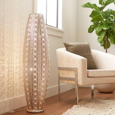 Silver Orchid Lisenko 43.5-inch 2-light Floor Lamp