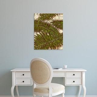 Easy Art Prints Andrea Davis's 'Batik Frond I' Premium Canvas Art