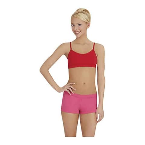 Capezio Dance Women's Camisole Bra Top (Set of 2) Red