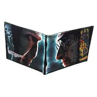 Harry Potter Canvas Bi-Fold Wallet - Multi