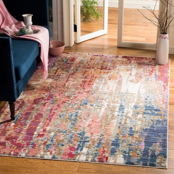 Safavieh Nirvana Bahareh Modern Oriental Polyester Rug