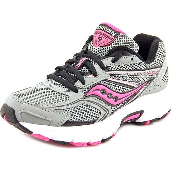 Saucony Cohesion 9 Women Round Toe Synthetic Gray Sneakers