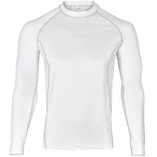 WickedStock Men's Cool Dry Long Sleeve Compression Shirt Top FSF-1