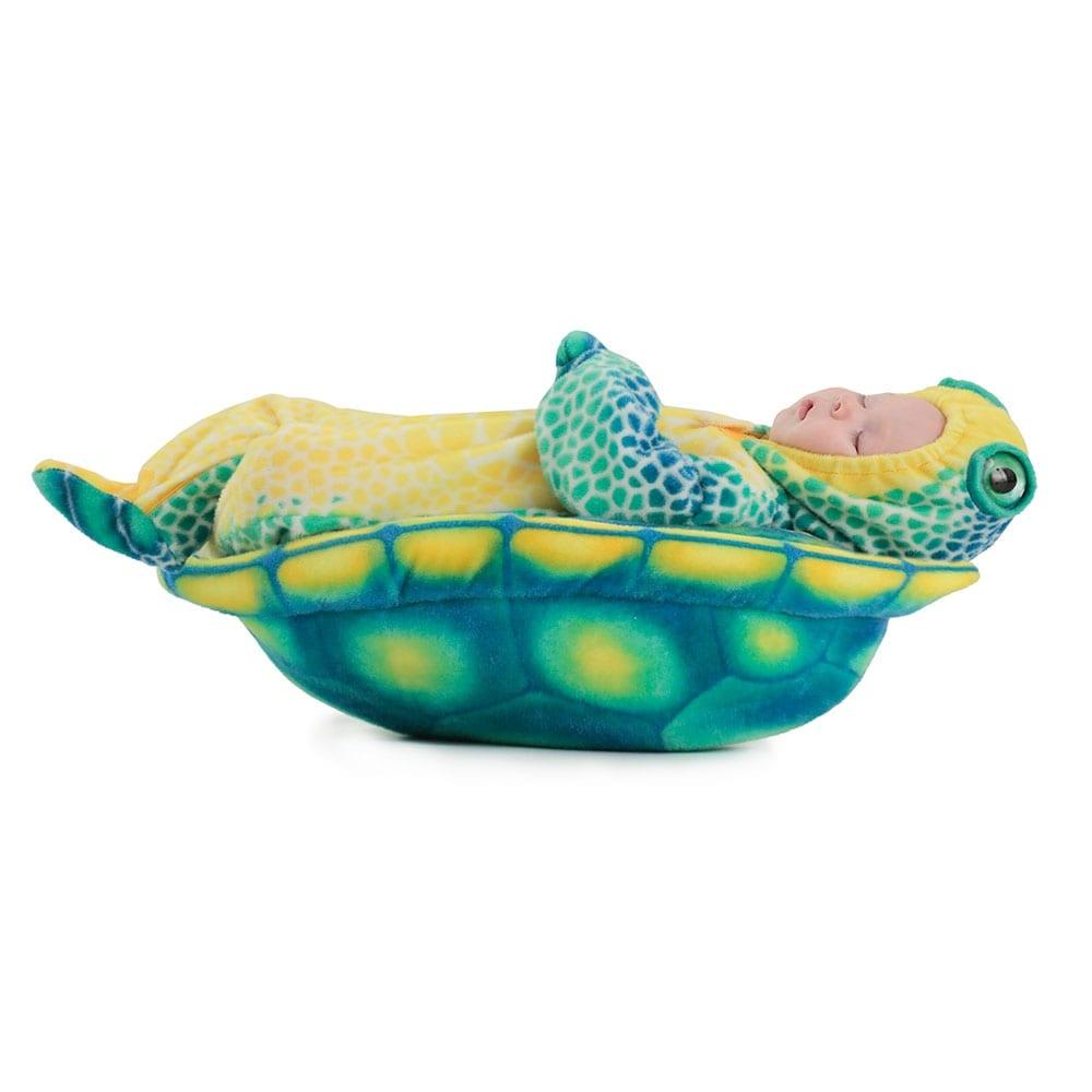 c4c88eb06 Newborn Anne Geddes Sea Turtle Halloween Costume
