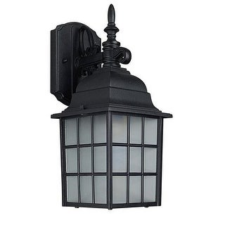 "Sunset Lighting F7818 1 Light 14.25"" Height Outdoor Wall Sconce"