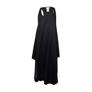 MICHAEL Michael Kors Women's Racerback Maxi Dress Swim Cover