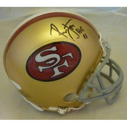 deb6082e3 Shop Ronnie Lott Autographed San Francisco 49ers Mini Helmet wHOF 00 - Free  Shipping Today - Overstock - 13484696