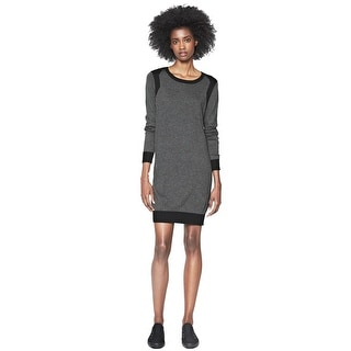 French Connection Bambino Knits Long Sleeve Sweater Cocktail Dress