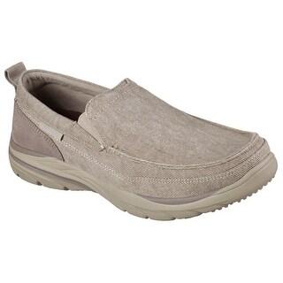 Skechers 64805 KHK Men's CORVEN-MEDOW Loafers