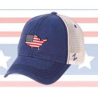 Zephyr Hat Cap 4th of July United States Flag USA America Patriot USAWDM0010