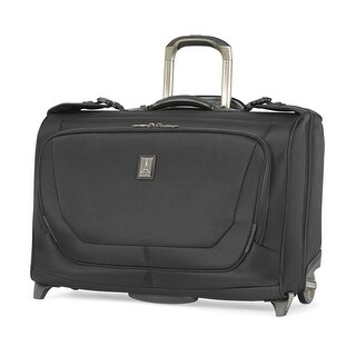 Travelpro Crew 11 - Black Nylon Fabric Carry-On Rolling Garment Bag w/ Integrated USB Port