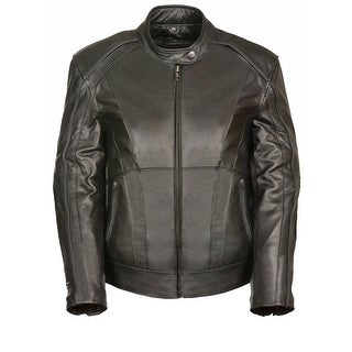 Womens Leather Jacket Stud / Wings Detail (More options available)
