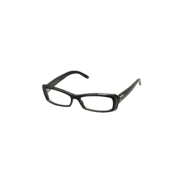 Gucci Womens Eyeglasses 3516 E6Q/15 Plastic Butterfly Dark Grey Frames - Black