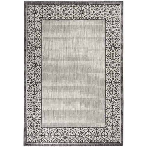Nourison Garden Party Trellis Indoor/Outdoor Area Rug. Opens flyout.