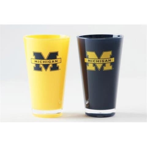 Michigan Wolverines Tumblers - Set of 2 (20 oz)