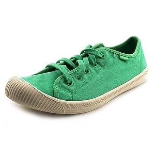 Palladium Flex Lace TX Women   Canvas Green Fashion Sneakers