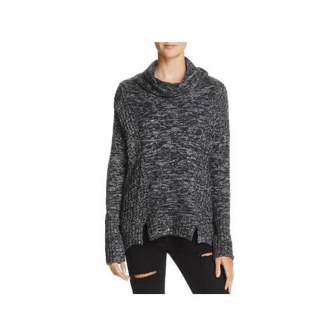 7d59aa7e9d3 Vintage Havana Womens Pullover Sweater Knit Cowl Neck