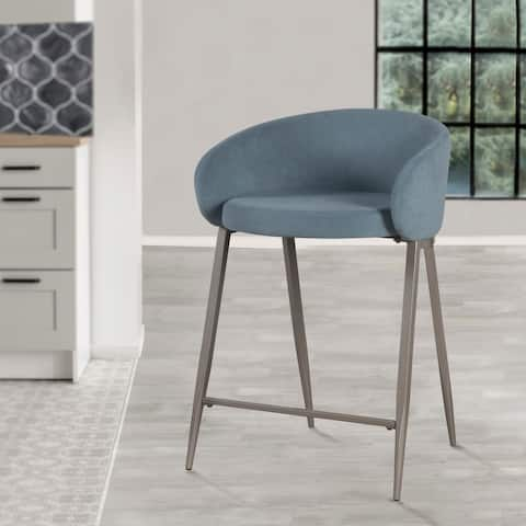Hillsdale Furniture Cromwell Metal Counter Height Stool - 34.25H x 23W x 24.25D