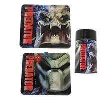 Predator Tin Lunch Box with Thermos - Multi