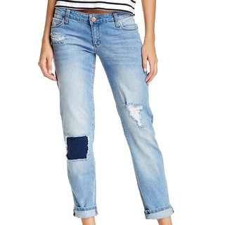 STS Blue NEW Distressed Women's 28 Relaxed Jessie Boyfriend Jeans