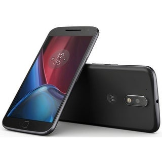 Motorola Moto G4 Plus XT1641 Unlocked GSM 4G LTE Phone w/ 16MP Camera - Black