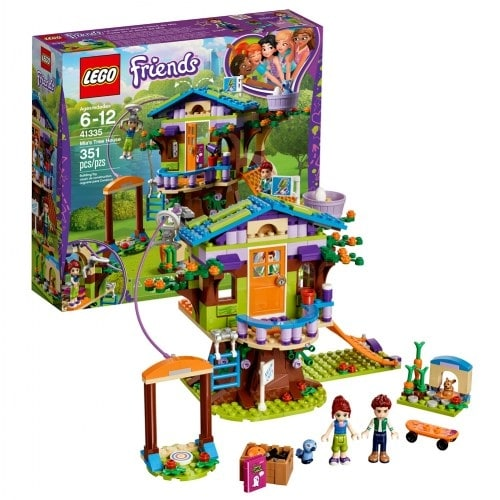 Shop Lego Friends Mias Tree House 41335 Free Shipping On Orders