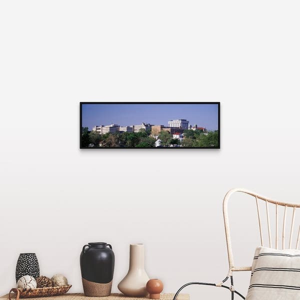 Shop Kansas City Ks Black Float Frame Canvas Art Overstock 25511685