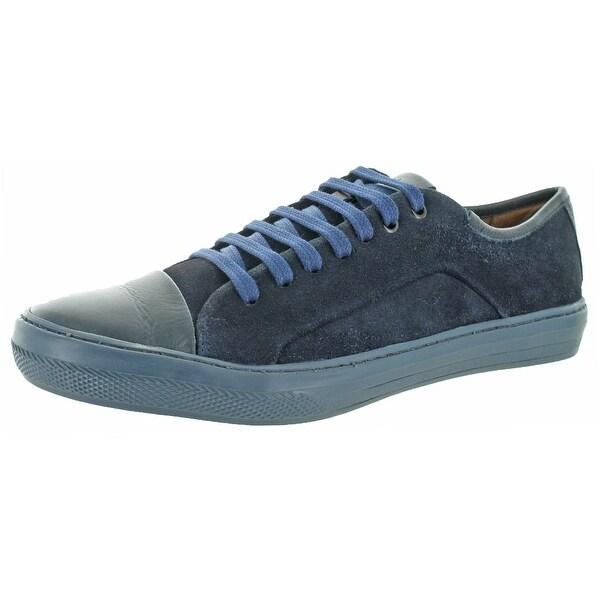 Donald J Pliner Romo Men's Suede Fashion Sneaker Shoes