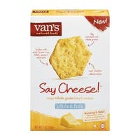 Van's Natural Foods - Gluten Free Say Cheese! Crackers ( 6 - 5 OZ)