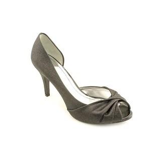Style & Co Amilli Women Open-Toe Canvas Black Heels