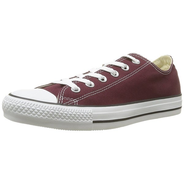 35fee1815645b Converse Unisex Chuck Taylor All Star Ox Low Top Classic Burgundy Sneakers