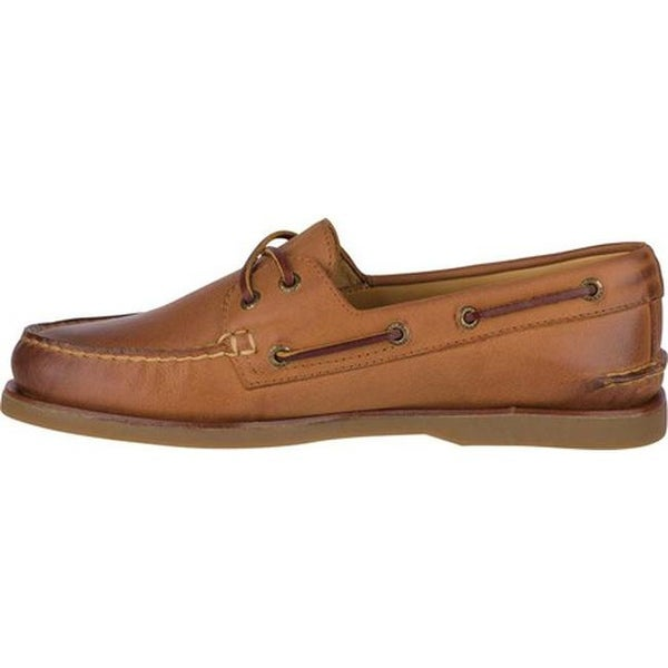 Gold Cup A/O 2-Eye Boat Shoe Ginger