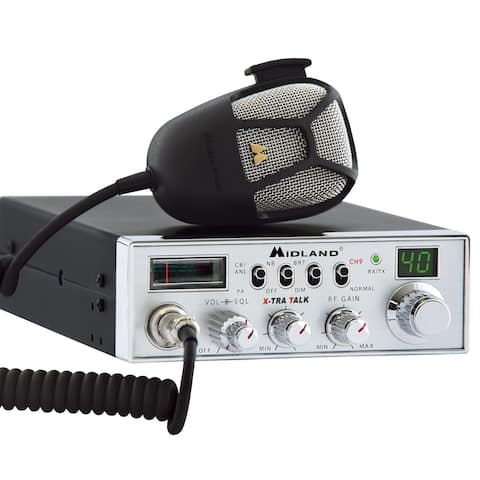 Midland 5001Z 40-Channel 4W CB Radio with Noise Filter