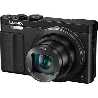 Panasonic DMC-ZS50K LUMIX 30X Travel Zoom Camera with Eye Viewfinder (Black)