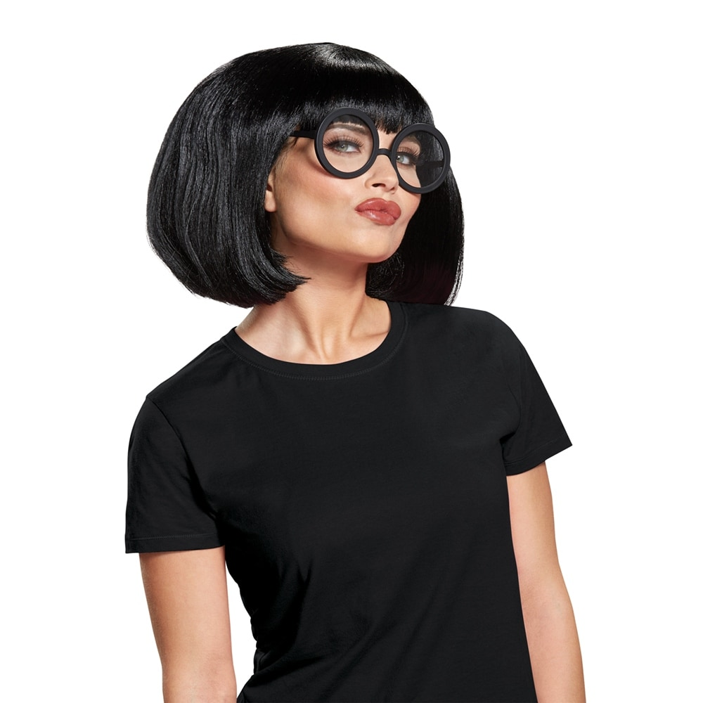Shop Womens Incredibles 2 Edna Mode Costume Wig Kit Standard One Size Overstock 22532662