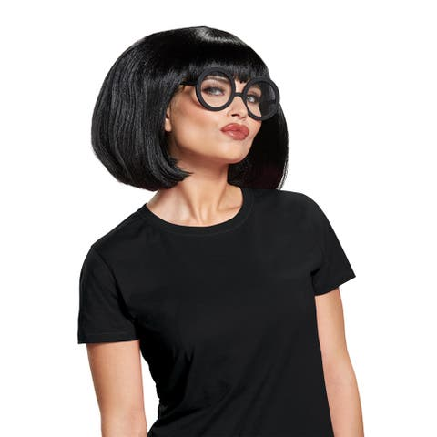 Womens Incredibles 2 Edna Mode Costume Wig Kit - Standard - One Size