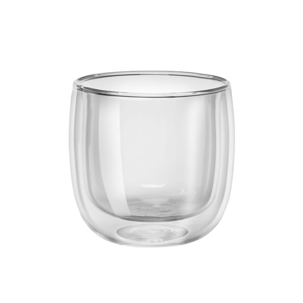 ZWILLING Sorrento 2-pc Double-Wall Glass Tea Cup Set - Clear