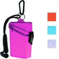 Witz Glitter Box II Keep It Safe Clear Lightweight Waterproof Sport Case - One Size