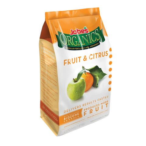 Jobes 09226 Organic Fruit and Citrus Granular Fertilizer, 4 Lbs
