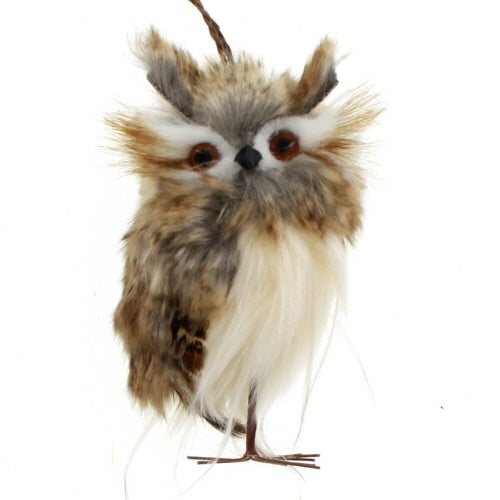 Brown Fur Hoot Owl