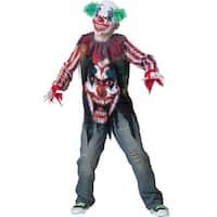 Boys Terror Clown Evil Halloween Costume