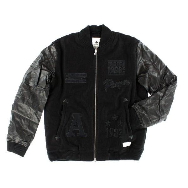 Shop Adidas Mens Run Bomber Jacket Black On Sale Free