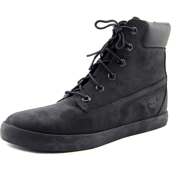 Timberland Flannery Women Round Toe Leather Black Chukka Boot
